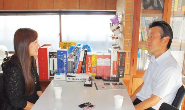 【異業種ネット】月刊経営情報誌『センチュリー』特別取材企画 掲載記事─取材記事写真