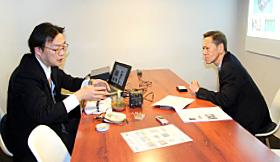 【異業種ネット】月刊経営情報誌『センチュリー(CENTURY)』特別取材企画 掲載記事─取材記事写真
